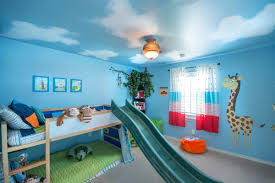 adorable blue color wall paint bedroom decorating ideas with cream white wooden loft beds be equipped adorable blue paint colors