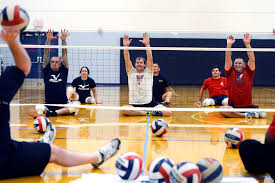u s department of defense photo essay the navy s warrior games volleyball team practices at penn state university in state college pa 5 2013