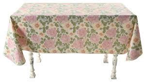 """<b>Скатерть Колорит</b> """"Цветы розовые"""", с бейкой, 135 х 110 см. 161 ..."""