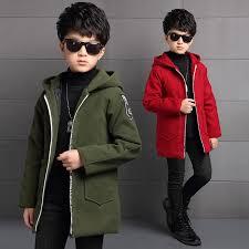 Children's Clothing <b>New Boy's Coat</b> Long sleeved Thickening ...