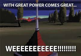 Image result for with great power