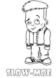 Small Picture Slow Moe Little Boy Monster High Coloring Page Little Boy