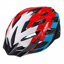 <b>Летний шлем Alpina</b> 2017 Panoma white-red-blue - купить в КАНТе