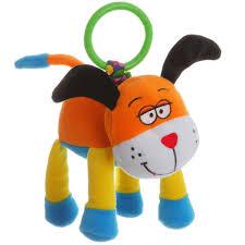 <b>Bondibon Мягкая</b> развивающая игрушка-<b>растяжка</b> Собака