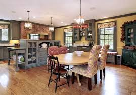 country kitchen ideas brown