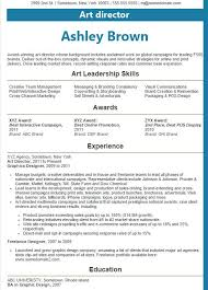Resume Best Examples | Resume Format Download Pdf Resume Best Examples put on a resume best Art Director Resume Examples Is One Of The