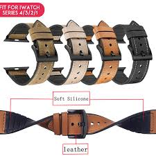 <b>Laforuta</b> Leather Loop For Apple Watch <b>Bands</b> 40mm 44mm IWatch ...