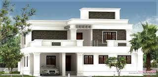 Flat roof  Kerala and House design on Pinterest