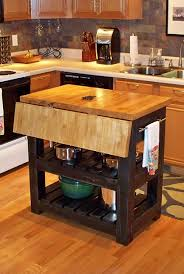 block kitchen island home design furniture decorating:  drop leaf kitchen island simple for your small home decoration ideas with drop leaf kitchen island