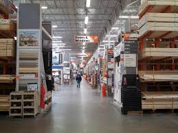 the home depot interior of the home depot in natick massachusetts