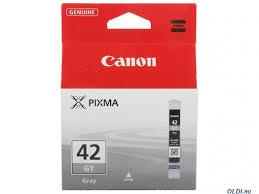 <b>Картридж Canon CLI</b>-42GY серый (grey) 492 стр. для <b>Canon</b> PRO ...