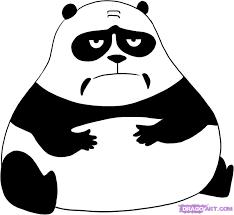 Afbeeldingsresultaat voor panda cartoon