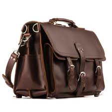 <b>Leather Briefcase</b> | Full-Grain | Saddleback Leather