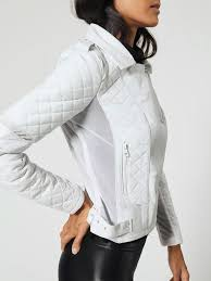 Renegade Mesh Moto Jacket in White
