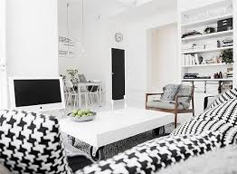 view in gallery black white interior design