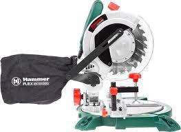 <b>Пила</b> торцовочная <b>HAMMER STL1400</b>/<b>210</b>, 1400 Вт, 5000об/мин