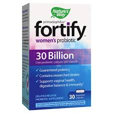 Nature's Way Primadophilus <b>Fortify Women's Probiotic</b>, 30 ct ...