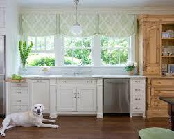 modern window treatments for kitchen