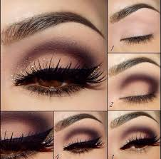 16 photos of the how to apply eye makeup for brown eyes step by step
