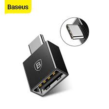 <b>Baseus Type C Male</b> to USB Female Adapter Coverter For Samsung ...
