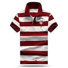 Glorystar <b>High quality men polo</b> shirt new summer casual striped ...