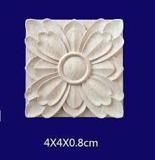 ECM#BAO2 Small square flower piece solid applique joint ...