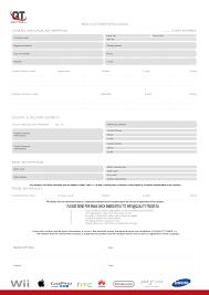 application form quality trade s r o our application form 1