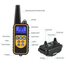 <b>880</b> Electric Dog Training Collar Pet Remote Control <b>Waterproof</b>-buy ...