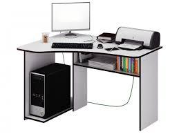 <b>Угловой компьютерный стол</b> с полками Триан-1 — купить в ...