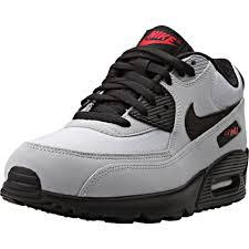 nike air max 90 essential red black grey black grey nike air