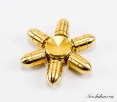 <b>Спиннер</b> (<b>Hand Spinner</b>) <b>Пуля</b> золотая - купить в интернет ...