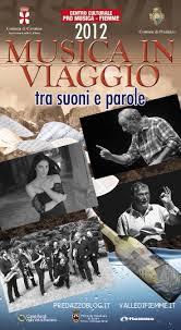"""Cavalese, Festival """"Musica in viaggio mercoledì 29 agosto"""