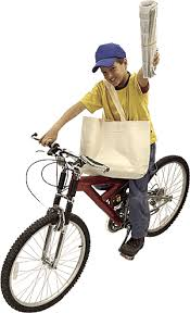 Image result for NEWSPAPER DELIVERY BOY
