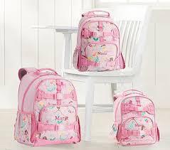 Mackenzie <b>Pink Mermaid</b> Friends Glow-in-the-dark Backpacks ...