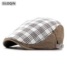 2018 <b>SILOQIN Adjustable</b> Head <b>Size</b> Washable Cotton Berets For ...