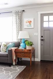 furniture living room wall: layer in color paint the inside of your front door a color for impact amp