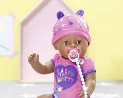 <b>Zapf Creation Baby Born</b> Doll Soft Touch Girl Brown Eyes - Senukai.lt