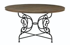 round dining table base: auberge round dining table top and metal dining table base