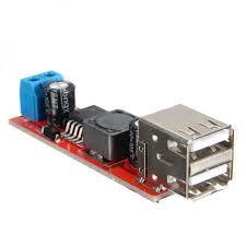 1PC <b>Dual USB</b> Output DC-DC 9V/12V/24V/36V to 5V 3A Step Down ...