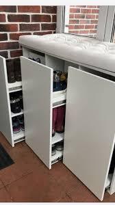 Банкетка под <b>крючками</b> в прихожей-идея хранения обуви | Шкаф ...