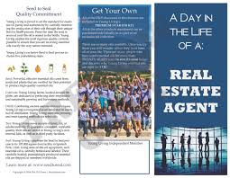 brochure real estate agent a day in the life the oil posse