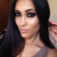 eye makeup for dark brown eyes tutorial