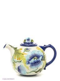 """Заварочный чайник """"Голубые маки"""" Blue Sky 2014618 в интернет ..."""
