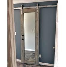 Chalkboard Sliding Barn Door in 2019   Interior barn doors   Glass ...