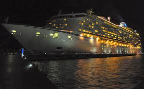 Image result for ship at night