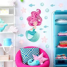 Enchanting <b>Pink Mermaid</b> Wall Stickers – Get Sticking