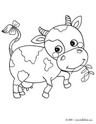 Small Picture Cute cow coloring pages Hellokidscom