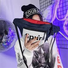 Fashion European and American canvas <b>bags</b> Printed Coloured ...