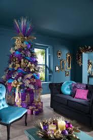 room ideas stylish golden purple