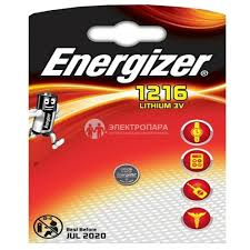 Характеристики модели <b>Батарейка Energizer CR1216</b> на Яндекс ...